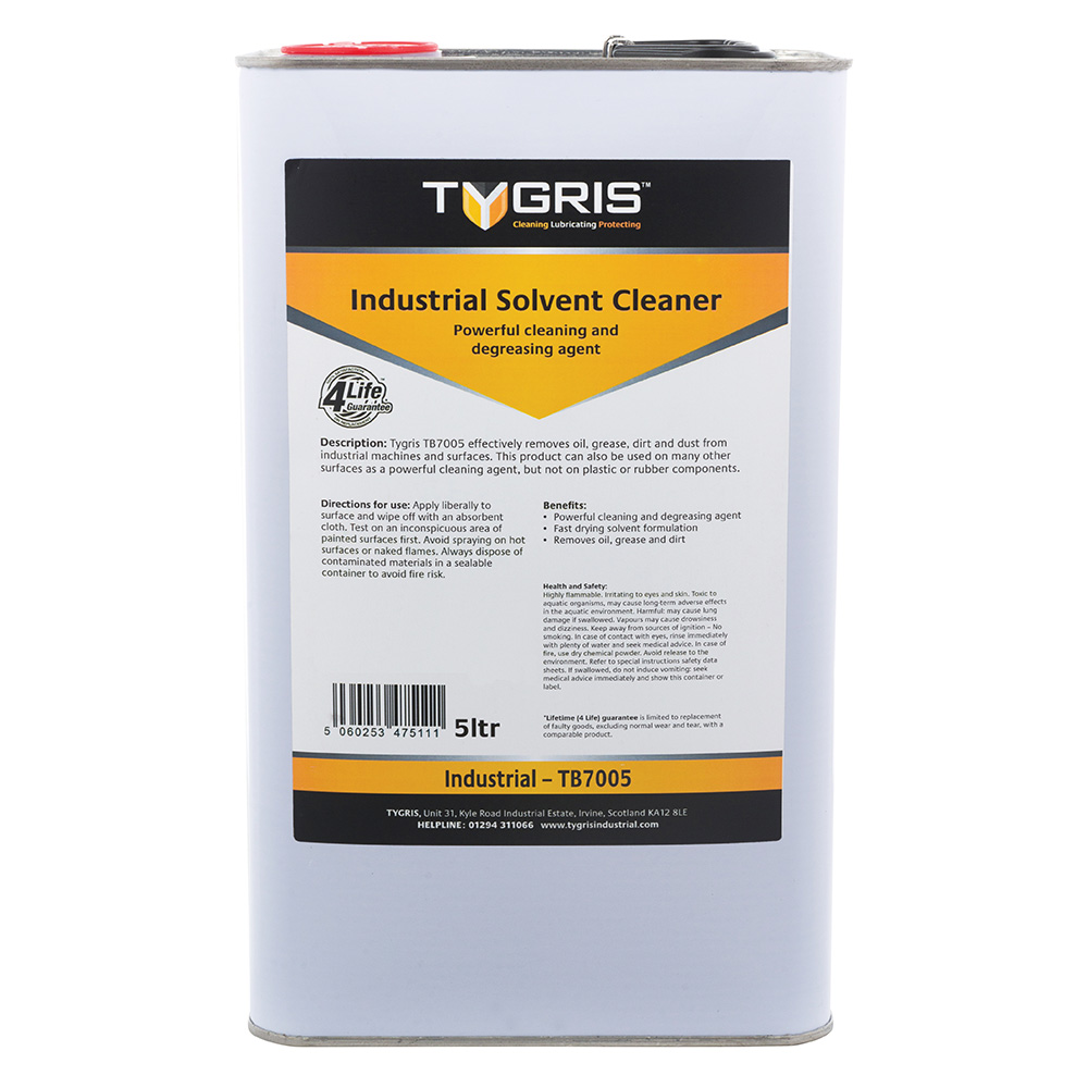 TYGRIS Industrial Solvent Cleaner - 5 Litre TB7005