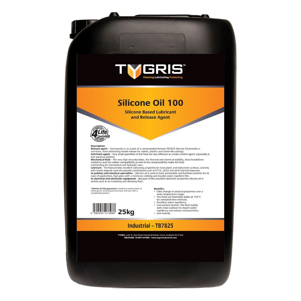 TYGRIS Silicone Oil 100 - 25 Kg TB7825