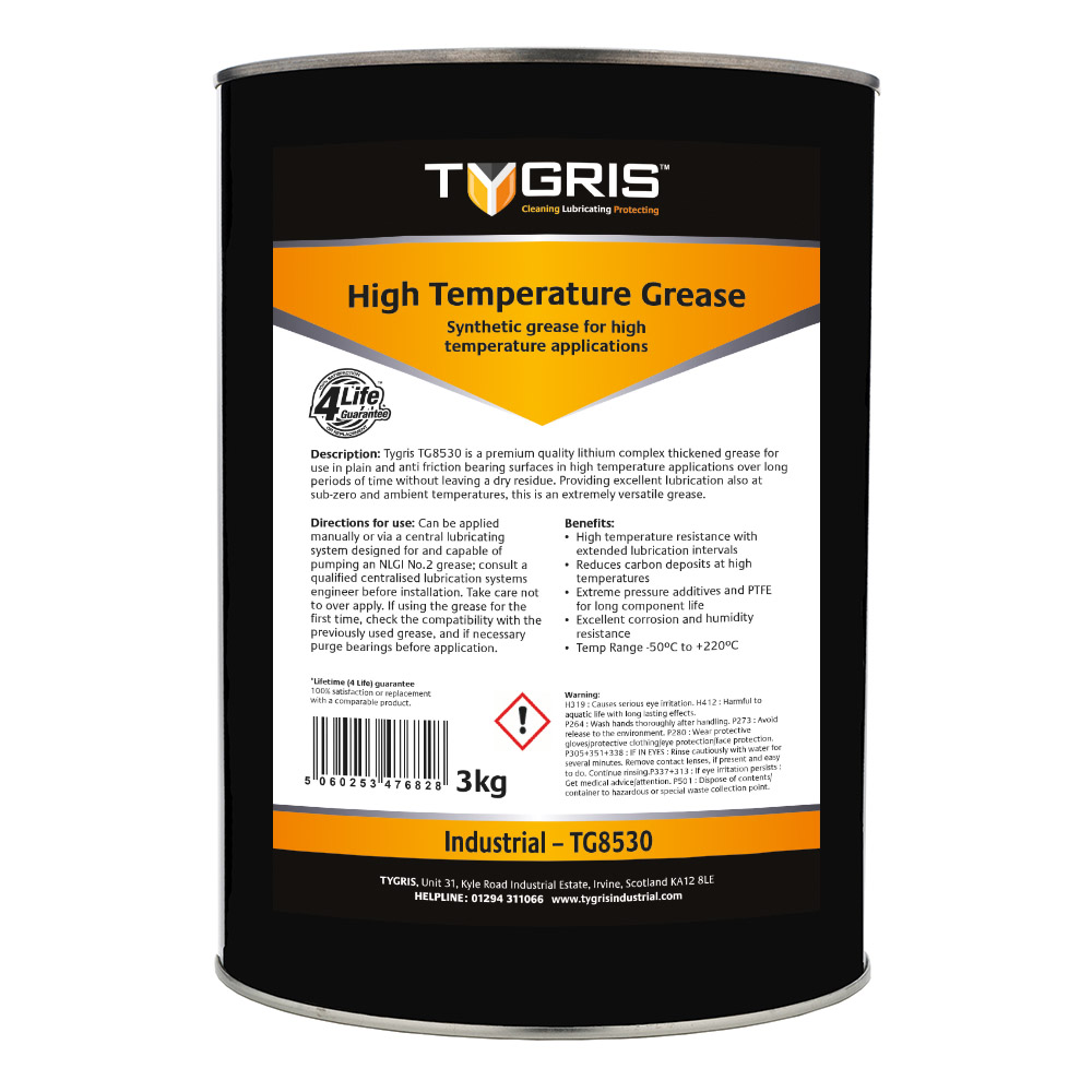 TYGRIS High Temp 2 Grease - 3 Kg TG8530
