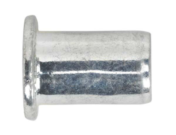 Sealey - TIRM10 Threaded Insert (Rivet Nut) M10 Regular Pack of 50