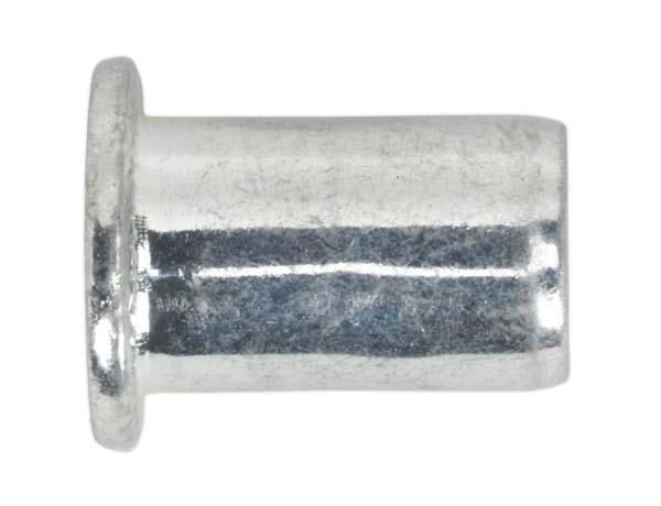Sealey - TIRM4 Threaded Insert (Rivet Nut) M4 Regular Pack of 50