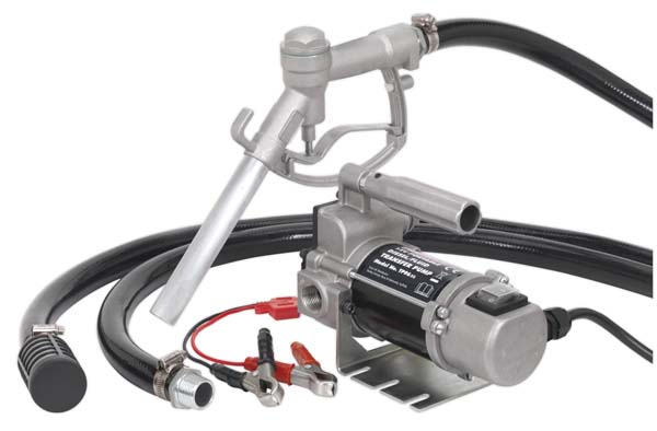 Sealey - TP96  Diesel/Fluid Transfer Pump Portable 12V