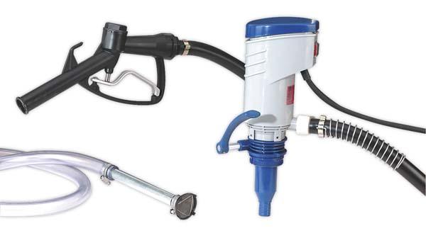 Sealey - TP97  Diesel & Fluid Transfer Pump Portable 12V