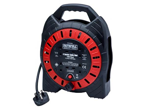 FAITHFULL  10m Cable Reel  - FPPCR10MSE