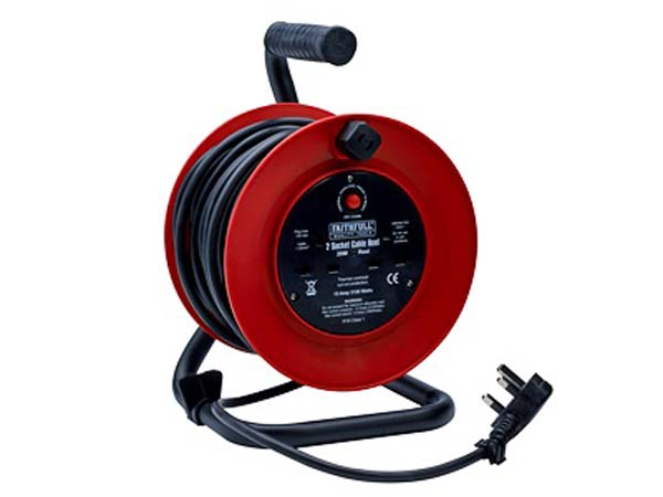 FAITHFULL  20m Cable Reel  - FPPCR20M