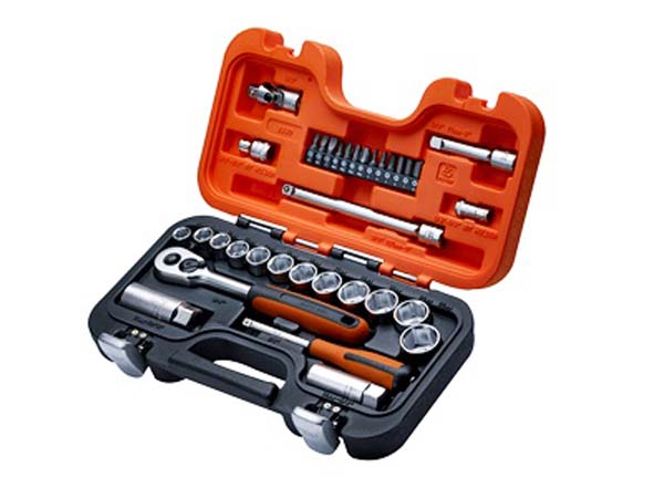 "BAHCO  34 Piece 3/8"" Socket Set with 1/4"" Bits  - BAHS330"