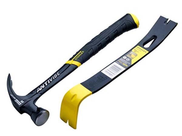 STANLEY FATMAX  20oz Antivibe Hammer with Bar  - STA151277 & STA155515
