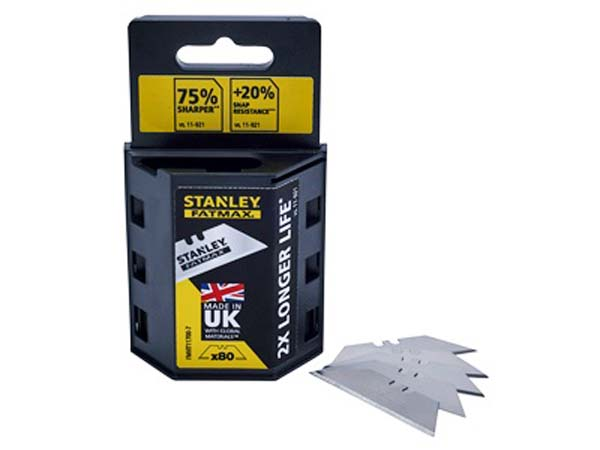 STANLEY FATMAX  80 Utility Knife Blades (BOGOF for the Consumer Only)  -