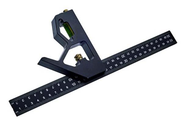 """FAITHFULL  300mm (12"""") Combination Square  - FAICS300CNC"""