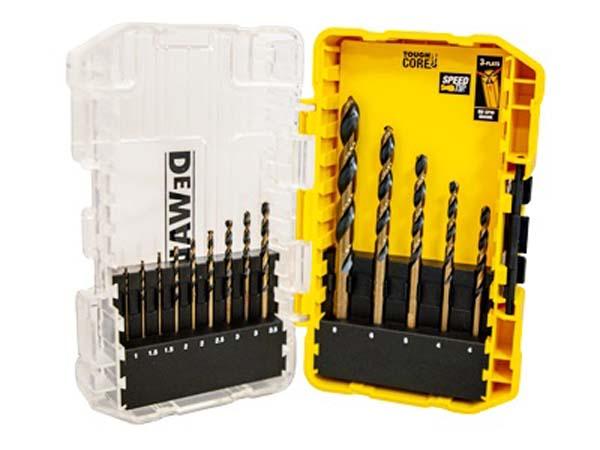 DEWALT  14 Piece Black & Gold HSS Drill Bit Set  -