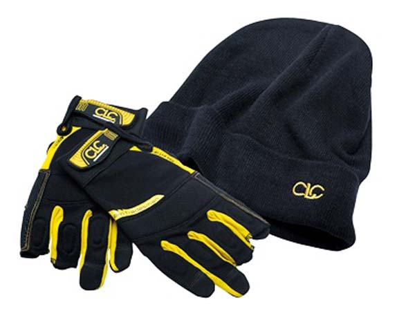 CLC (Custom Leather Craft)  Flexi-Grip Framers Gloves & Beanie Hat  -