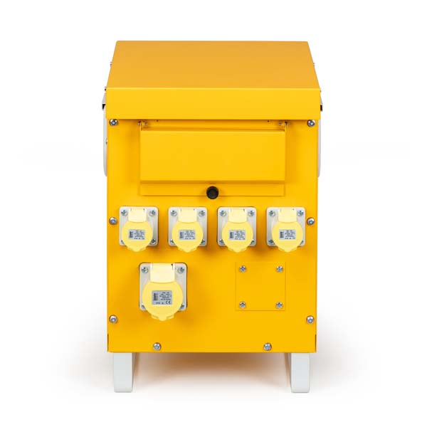 Defender 5kVA Site Transformer 4x 16A and 1x 32A Outlets 110V
