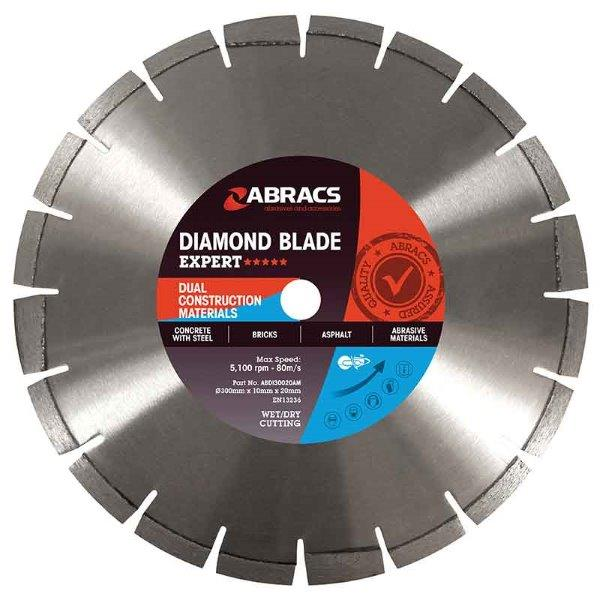 Abracs DCM Diamond Blade 230mm x 10mm x 22mm
