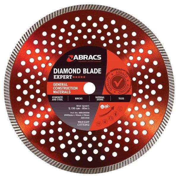 Abracs GCM Diamond Blade 125mm x 10mm x 22mm