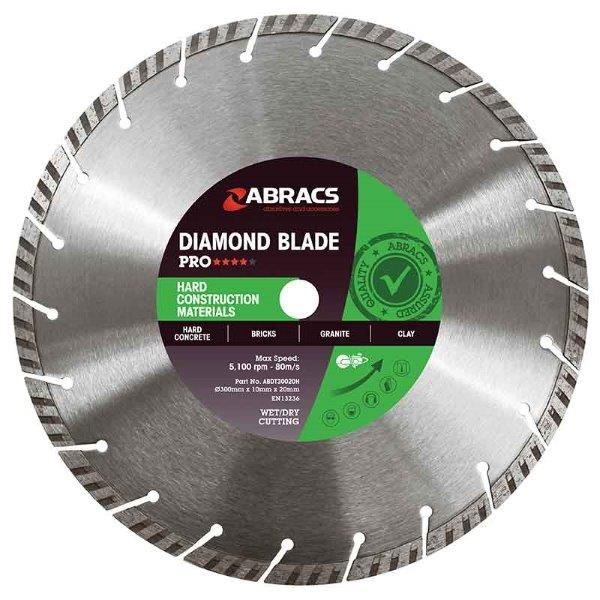 Abracs HCM Diamond Blade 115mm x 10mm x 22mm