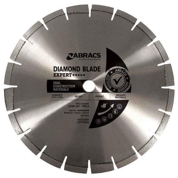 Abracs DCM Diamond Blade 450mm x 10mm x 25.4mm
