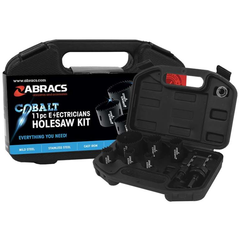 Abracs  11pc ELECTRICIANS HOLE SAW KIT