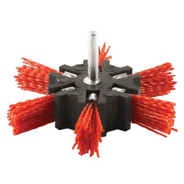 Abracs  100mm FILAMENT STRIP BRUSH - RED