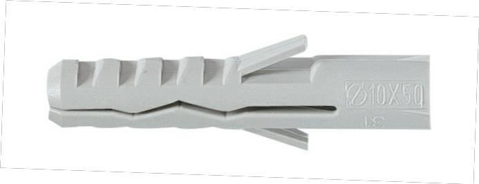 JCP  5 x 25 Nylon Wall Plugs - Suitable for Solid base Materials