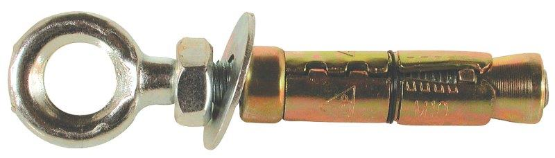 JCP M6 Ankerit Forged Eye Bolts - Zinc Plated