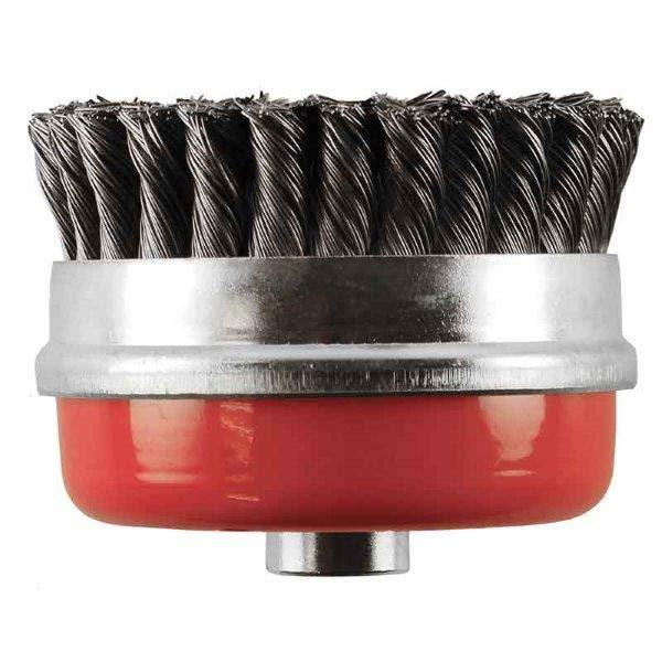 Abracs  70mm x M10 x1.5 T/Knot Wire brush